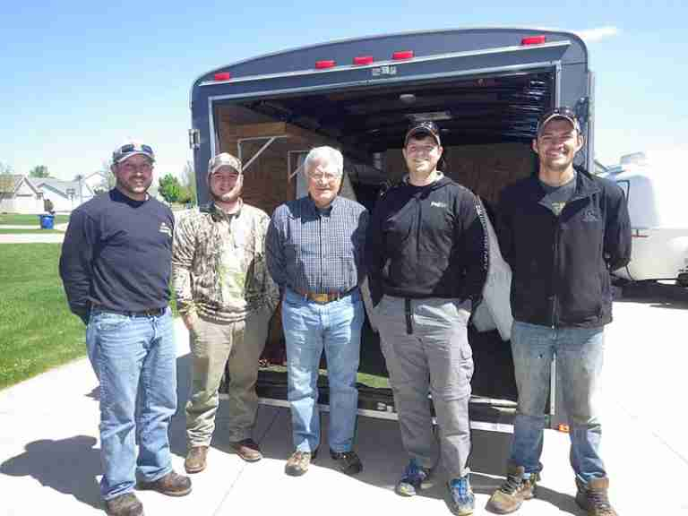 FVTU Helps Habitat Crew