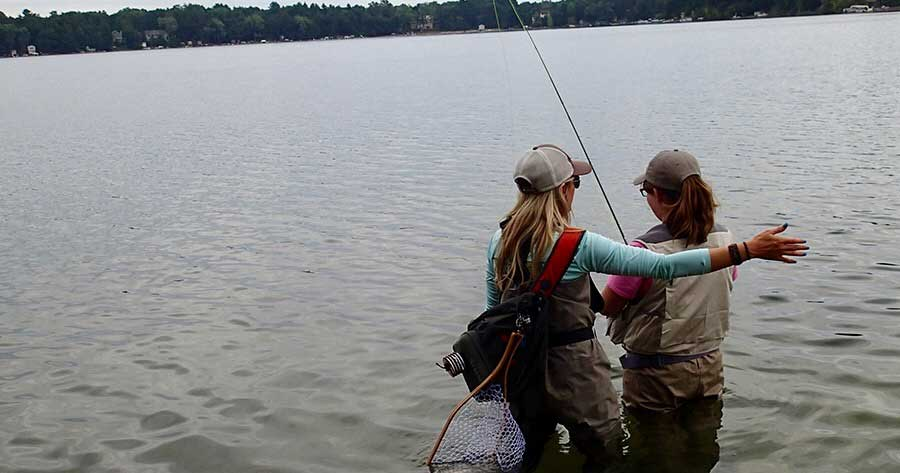 Do you know someone who wants to attend Wisconsin Trout Unlimited (WITU) Youth Fishing Camp?